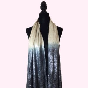 Le Chateau Sparkly Ombre Scarf